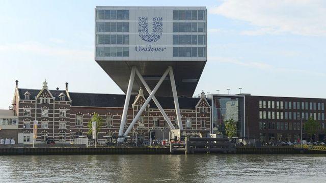 Sede de Unilever en Holanda.