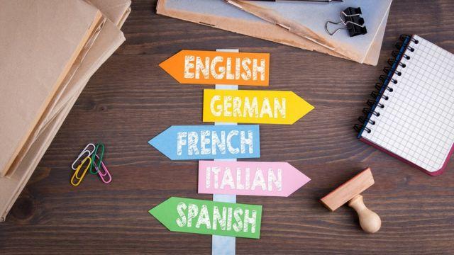 Señales con idiomas