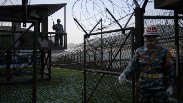 Zona de segurança na fronteira das Coreias