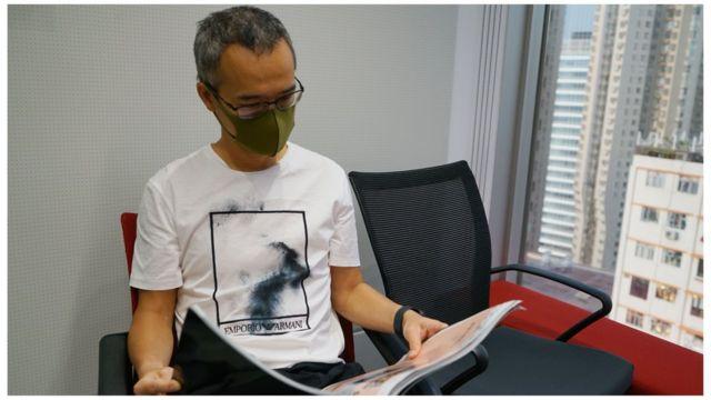前《蘋果日報》港聞版採訪主任蔡元貴