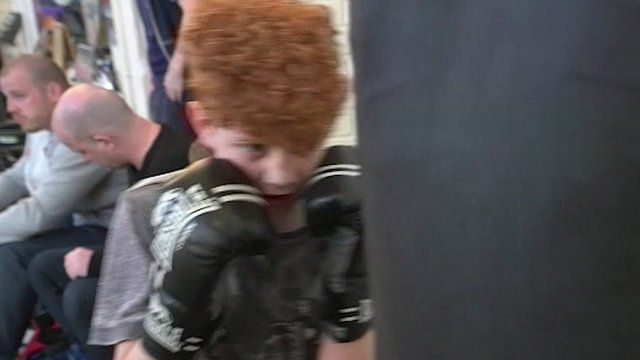 Child boxing