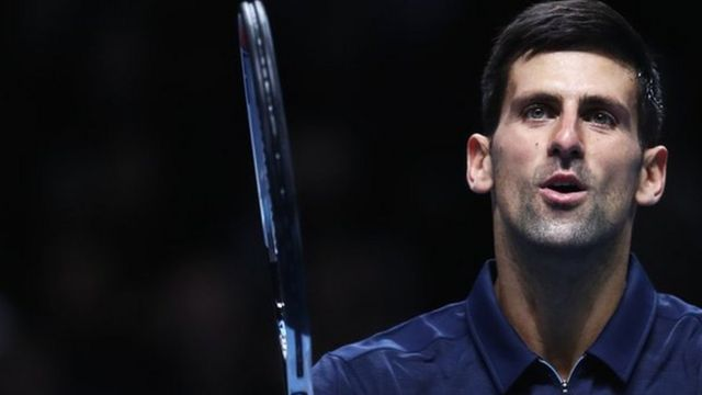 Novak Djokovic a battu en deux manches le Belge David Goffin.