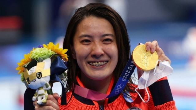 五輪初出場で金メダルを獲得した大橋