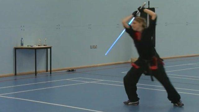 The national lightsaber combat championships