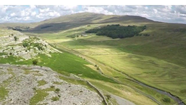 View of Yorkshire Dales