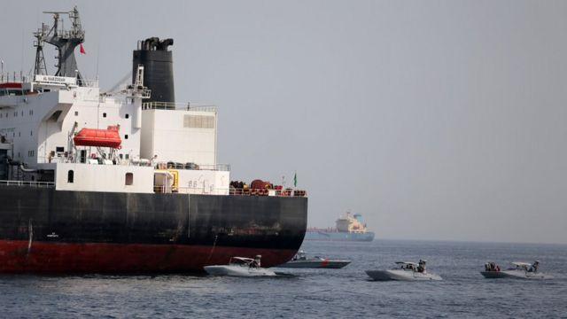 """Среди поврежденных в мае танкеров был и саудовский """"Аль-Марзука"""""""