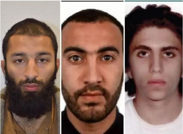 Autores ataque de Londres
