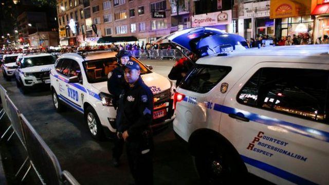 Lower Manhattan, New York truck attack