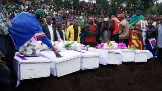 Mu ntangiriro z'uku kwezi abarwanyi bateye mu majyaruguru y'u Rwanda bica abaturage 14