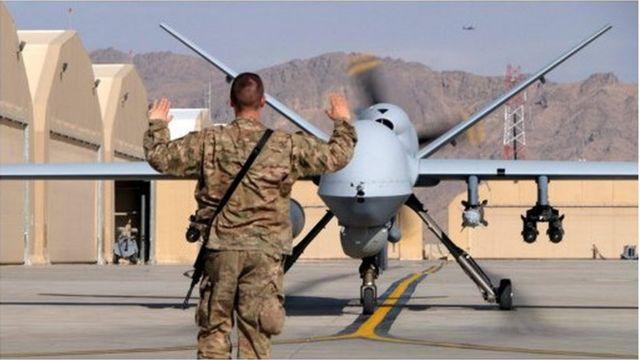 Drones, armée américaine
