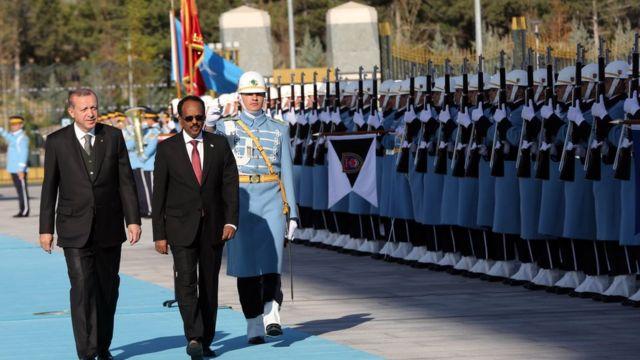 تركيا والصومال
