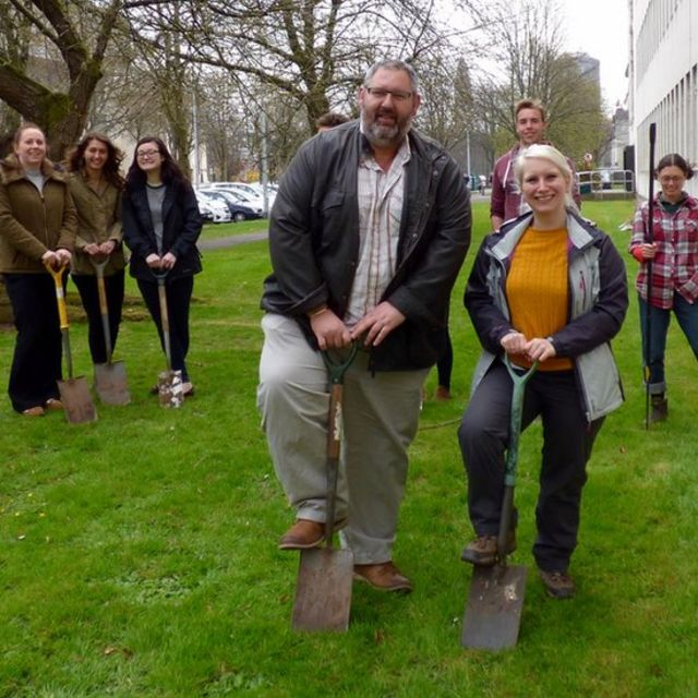 Cardiff University bid to be 'bee-friendly' campus