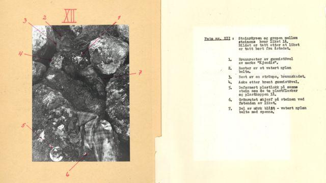 фотографије пронађених предмета