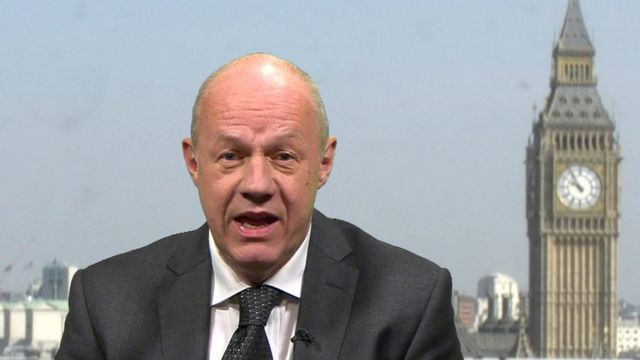 Work and Pensions Secretary, Damian Green