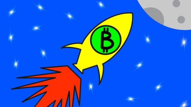 Ilustração bitcoin