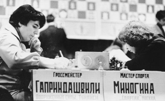 Нона Гаприндашвили и Тамара Миногина