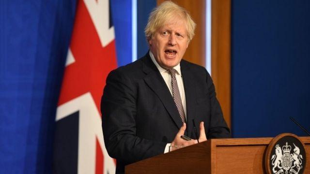 英國首相鮑里斯·約翰遜