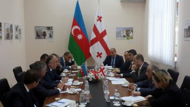 29 avqustda xarici işlər naziri Elmar Məmmədyarov Gürcüstanın xarici işlər naziri Mixeil Janelidze ilə görüşüb