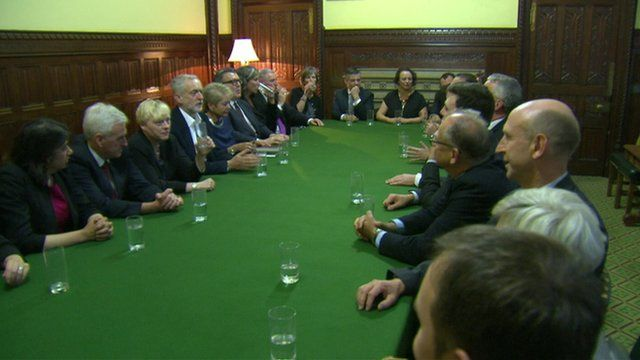 Labour Shadow Cabinet meeting