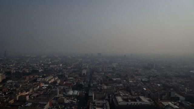 La ciudad de México es conocida por la baja calidad del aire.