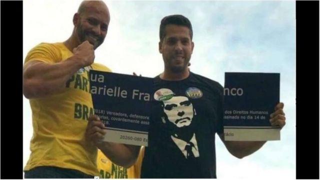 Daniel Silveira e Rodrigo Amorim