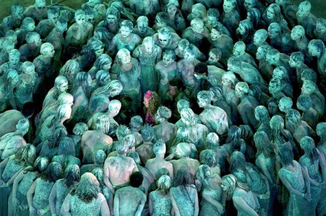 Ceremonia de inauguración de los Sídney 2000.