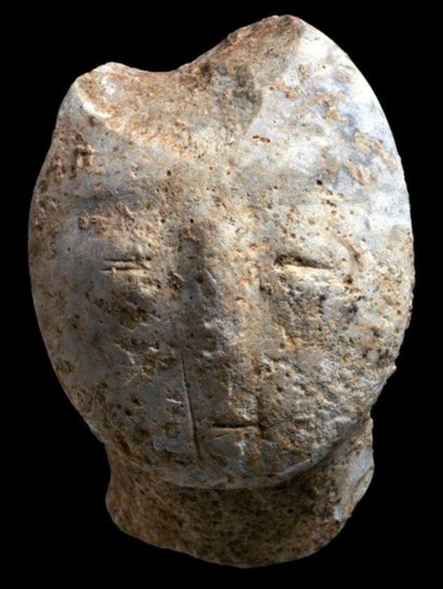фигурка головы человека