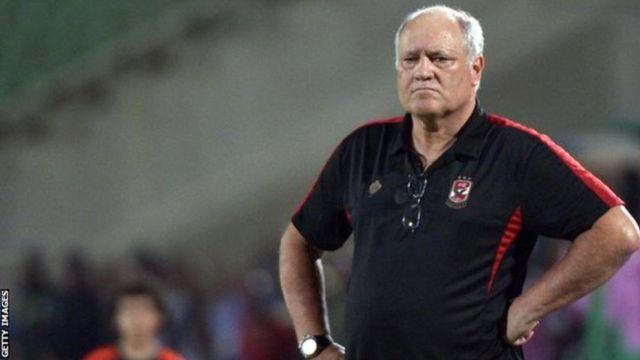 L'entraineur s'est excusé de n'avoir pas pu mener le club égyptien en final de la Ligue africaine des champions, remportée huit fois par Al Ahly auparavant.