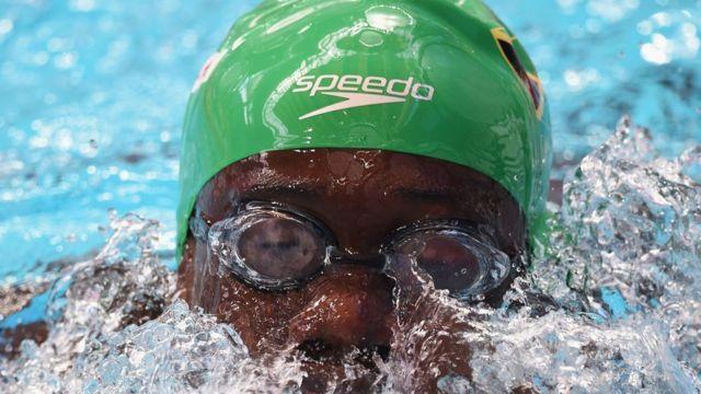 Frantz Dorsainvil ficou em 112º entre 113 nadadores na prova dos 50m do Mundial de 2015
