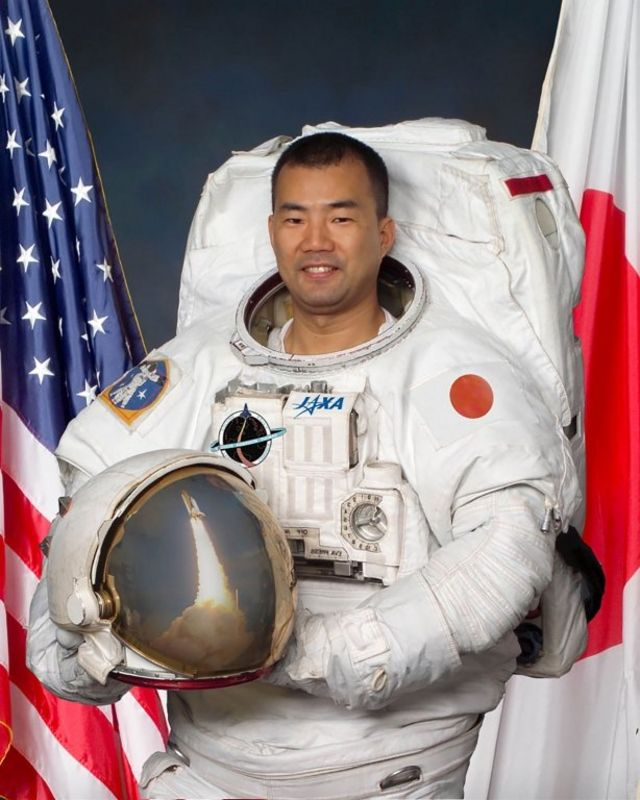 首位日本太空人野口聰一