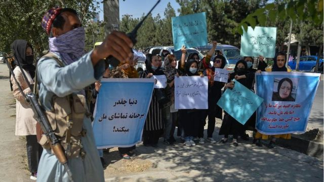 Protest in Kabul 8/9
