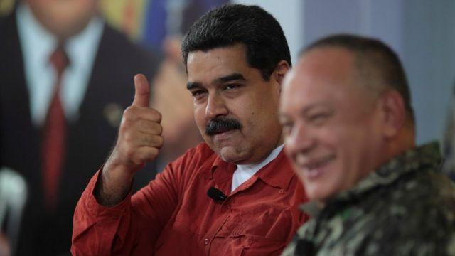 Nicolás Maduro y Diosdado Cabello
