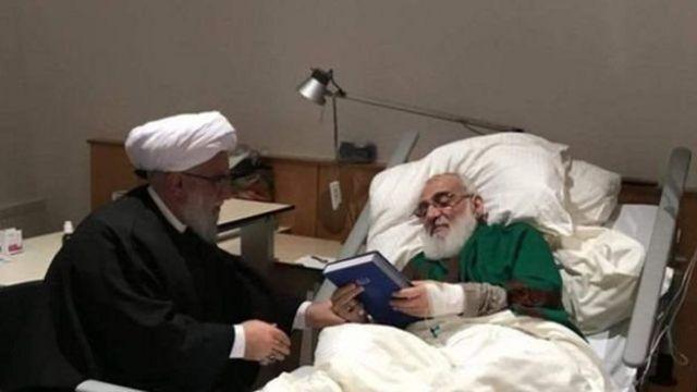 هاشمی شاهرودی در بیمارستان