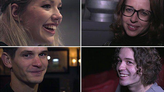 Four family members who run cinemas