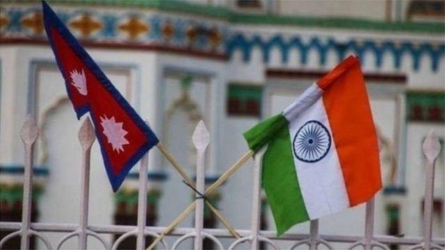 انڈیا نیپال پرچم