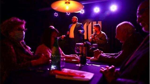 Bar de Fado em Porto, 19 de abril de 2021
