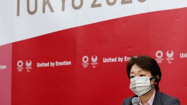 Tokyo 2020 organizasyon komitesi başkanı Seiko Hashimoto