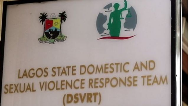 Lagos State Domestic and Sexual Violence response team logo