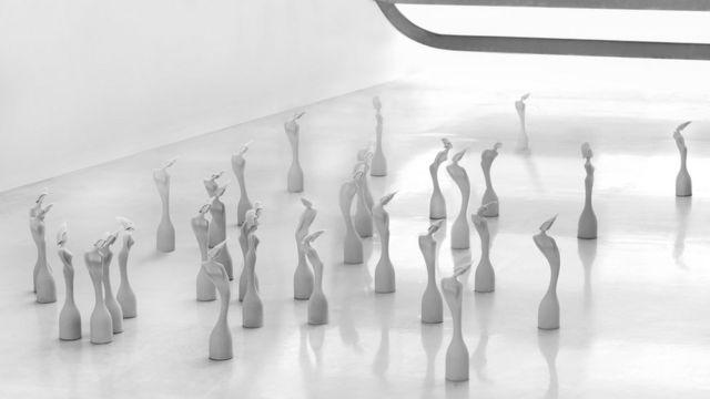 التماثيل التي صممتها زهاء حديد