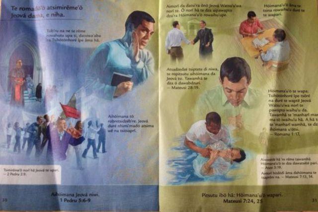 Folheto missionário