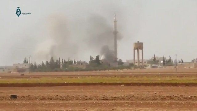 The Syrian town of Dabiq