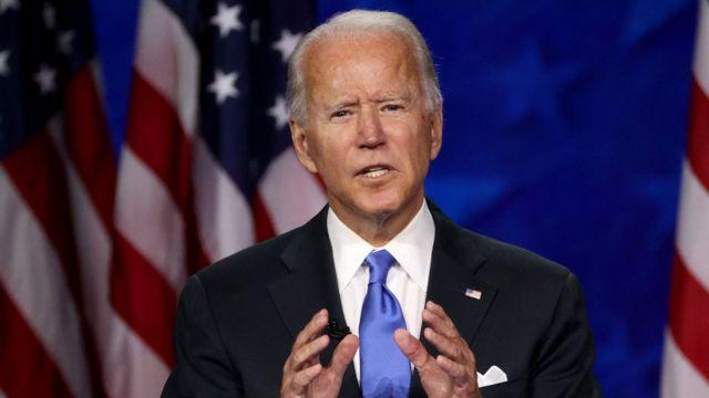 Bầu cử Mỹ 2020: Biden nói sẽ chấm dứt 'thời kỳ đen tối' của Trump - BBC  News Tiếng Việt