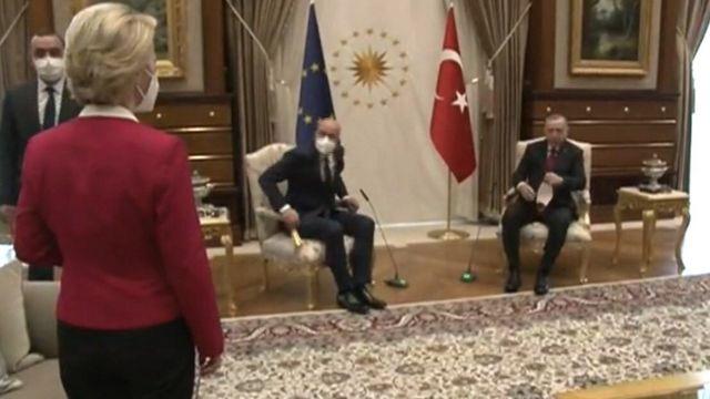 اردوغان و فون در لاین