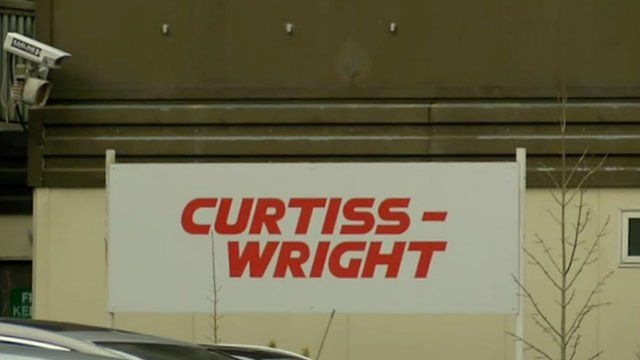 Curtiss Wright sign