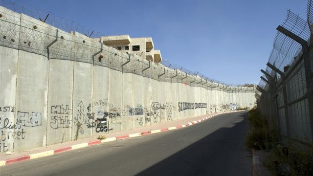 Muro israelí en Cisjordania