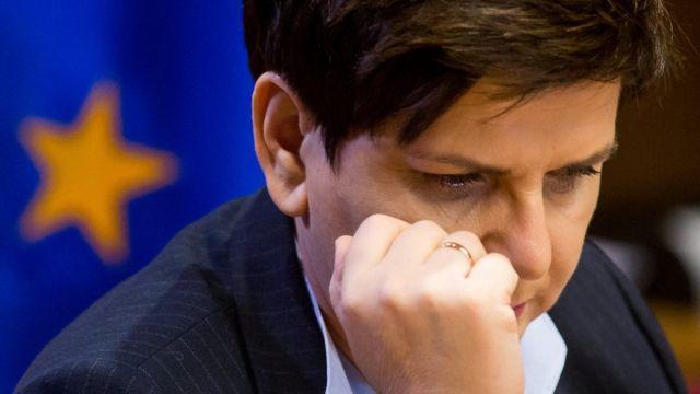 Польська прем'єрка Беата Шидло виступала проти переобрання головою Європейської Ради свого попередника Дональда Туска