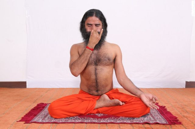 The yoga guru turned company boss