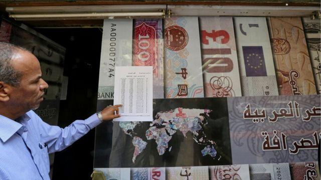 سوق العملات في مصر