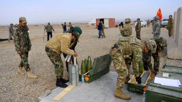 قوات عسكرية في أفغانستان