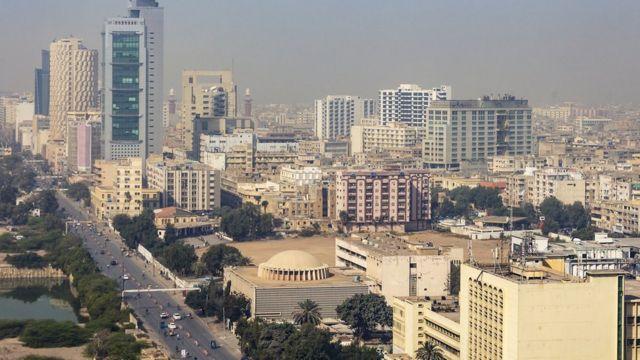 Панорама Карачи